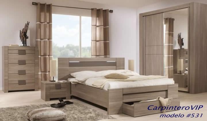 Juego de dormitorio minimalista moderno de fabrica bs 0 for Casa minimalista 3 dormitorios