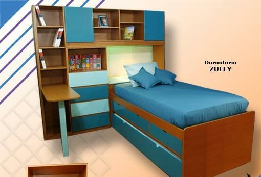 Juego de dormitorio modular duplex bs en for Juego de dormitorio montevideo