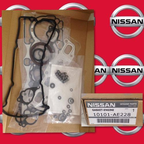 juego de empacadura de motor nissan xtrail t30