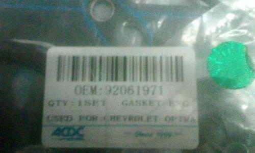 juego de empacadura optra limited (oen92061971)