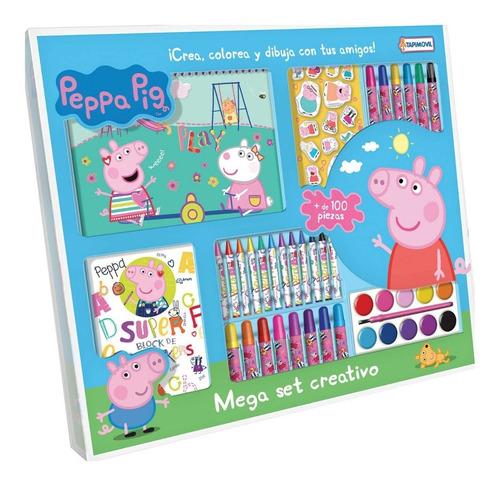 juego de escritura peppa pig mega set de dibujo tapimovil