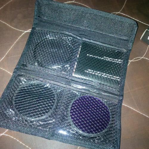 juego de filtros de 58mm para cámara fotográfica