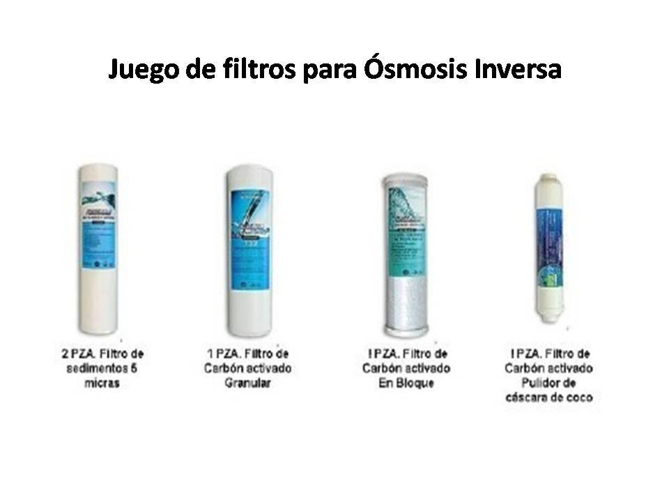 Juego de filtros para equipos de smosis inversa 595 - Filtro de osmosis inversa ...