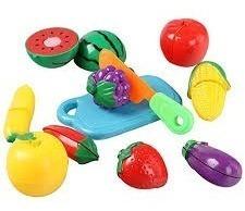 juego de frutas c/abrojo niños se cortan motric.fina terapia