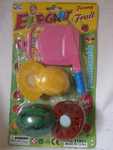 juego de frutas para jugar con adhesivo para separarlas