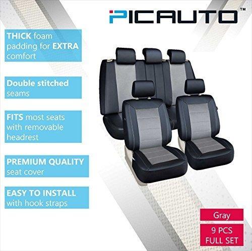 juego de fundas de asiento pic auto para autos camiones furg