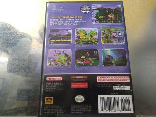 juego de gamecube original barato,super smash bros melee.