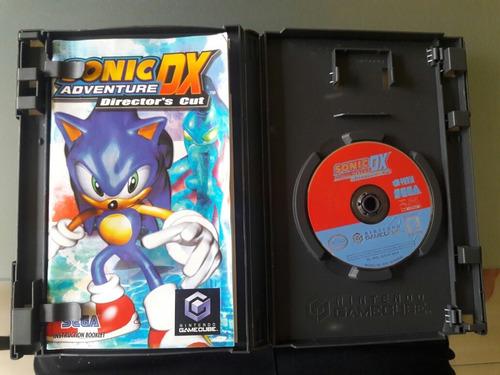 juego de gamecube original: sonic adventure dx