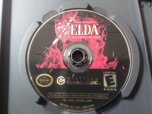 juego de gamecube ref 03,the legend of zelda ocarina of time