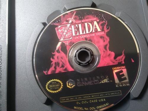 juego de gamecube ref 04,the legend of zelda ocarina of time