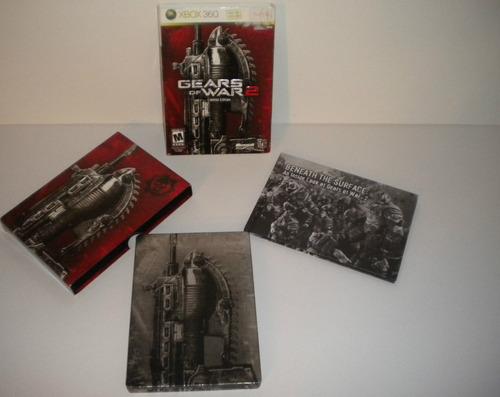 juego de gears of war 2, original esta todo en inglés