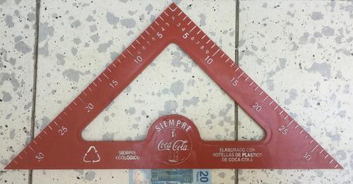 juego de geometría gigante de los 80's coca cola