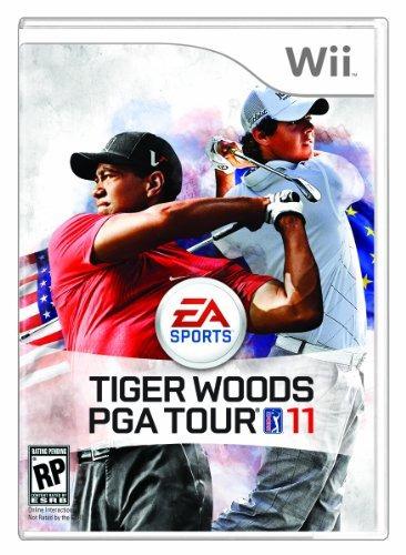 juego de golf tiger woods pga tour 11 - nintendo wii