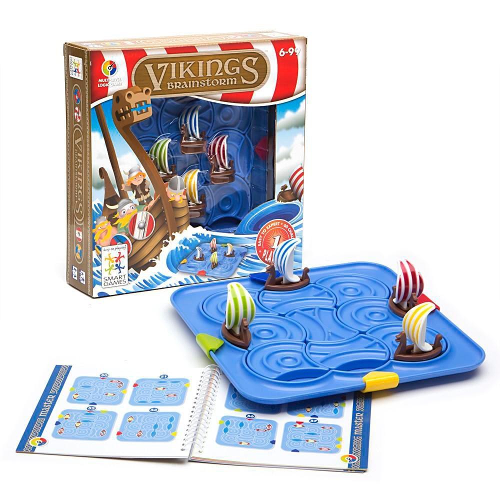Juego De Habilidad Y Destreza Mental Vikingos Smart Games 499 00