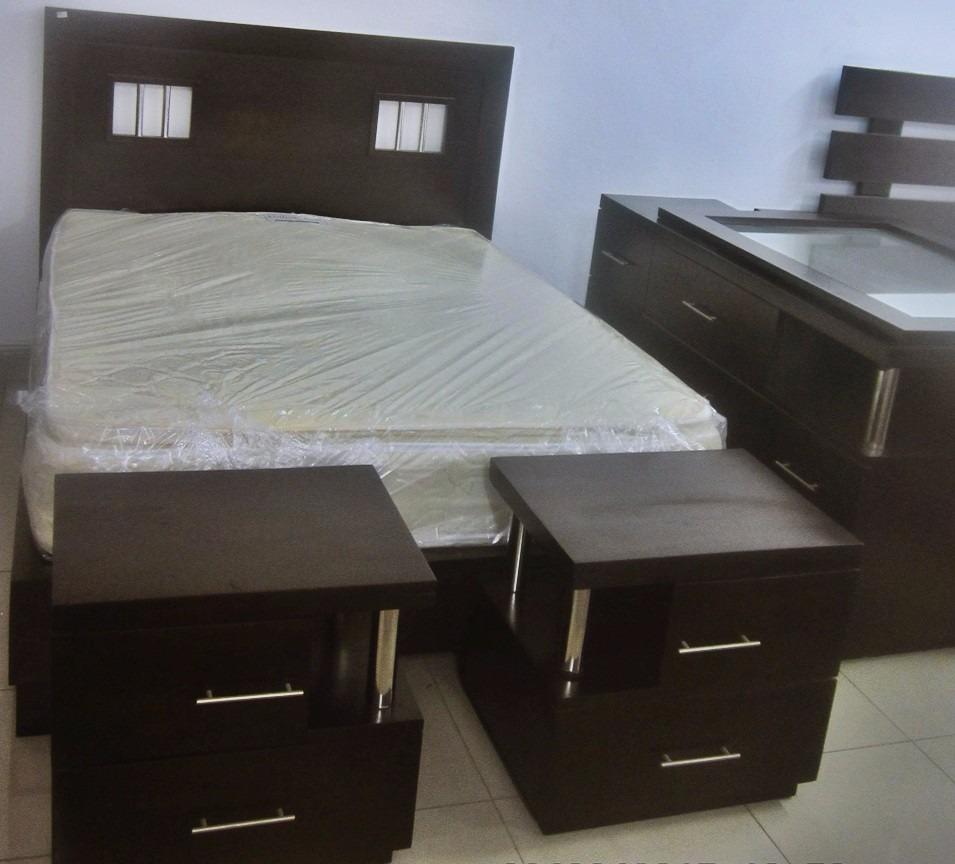 Venta Juego De Habitacion Caoba - Muebles en Mercado Libre República ...