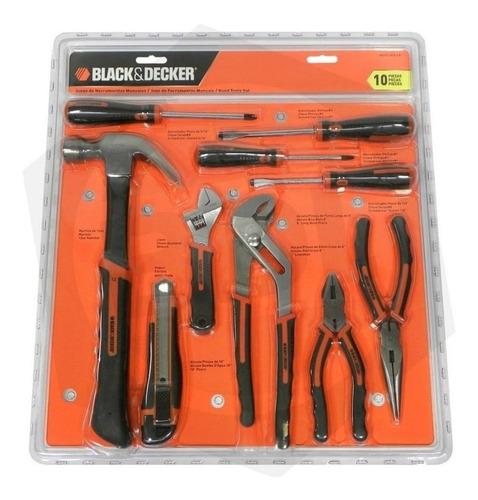 juego de herramientas 10 piezas black and decker hdt51-910