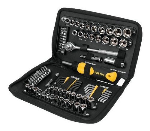 juego de herramientas 85 piezas pretul
