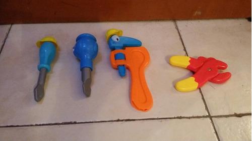 juego de herramientas de bob el constructor