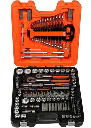 juego de herramientas llaves y dados 1/4 y 1/2 s138 bahco