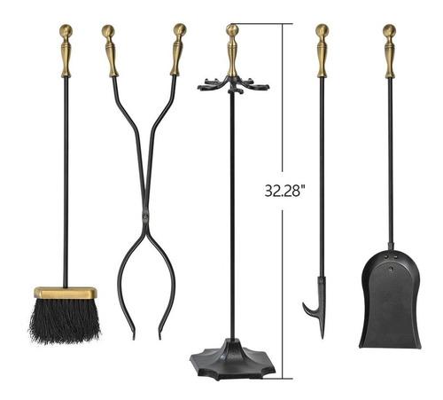 juego de herramientas para chimenea de 5 piezas juego de he