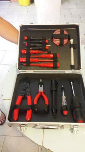 juego de herramientas para electricista rinoman 34 piz