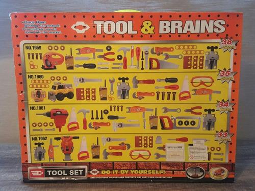 juego de herramientas para niños