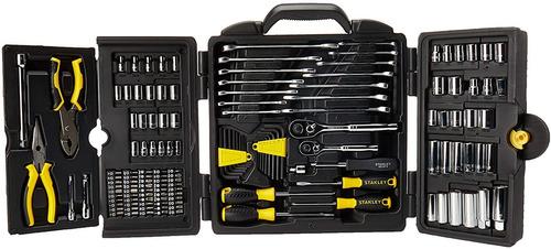 juego de herramientas stanley 150 piezas mecánico (97-543)