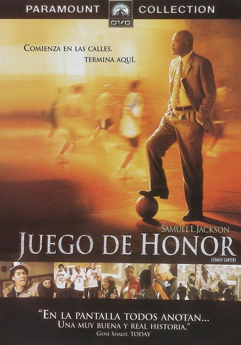 Juego De Honor Coach Carter Samuel L Jackson Pelicula Dvd