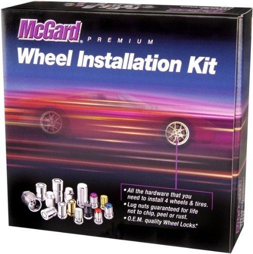 juego de instalacion mcgard 65557bk chromeblack splinedrive