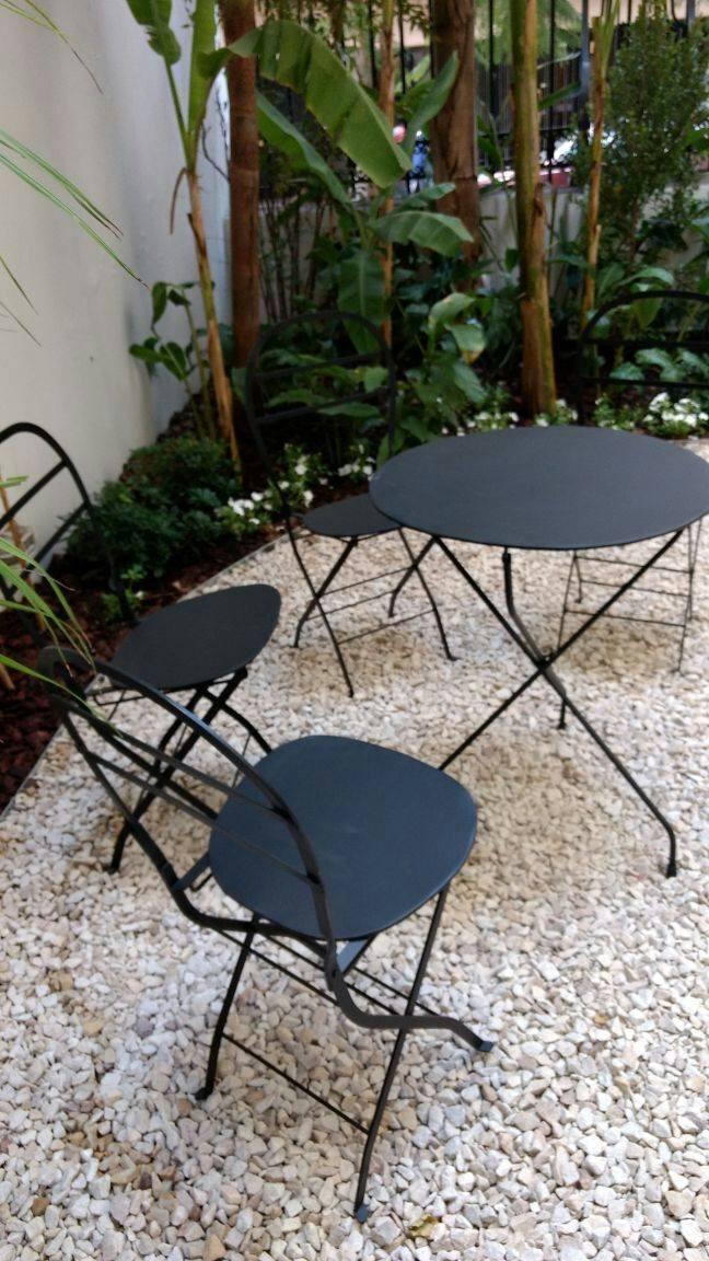 Juego De Jardin 1 Mesa 2 Sillas Artesanal Plegable Quilmes ...