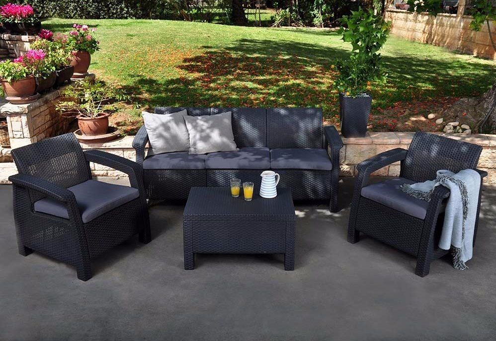 Beautiful juegos de jardin rattan contemporary design for Muebles de jardin ratan pvc