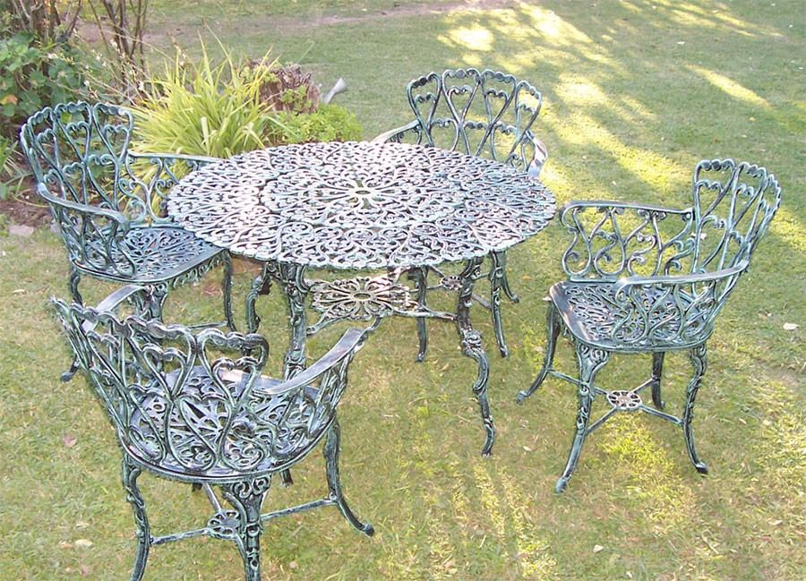 Emejing Juego De Jardin Fundicion Aluminio Ideas Amazing House Design