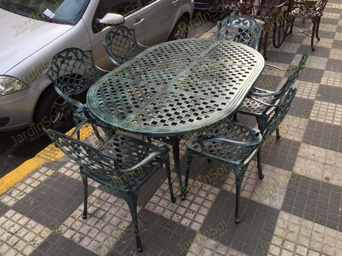 Best Juego De Jardin Fundicion Aluminio Pictures - Design Trends ...
