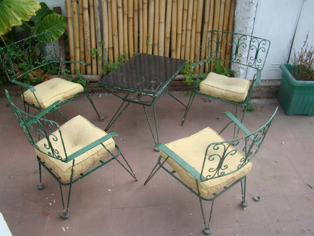 Awesome juegos de jardin vintage ideas design trends for Sillones jardin