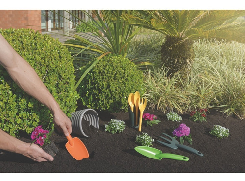 juego de jardinería 3 piezas plas pala escardillo tramontina