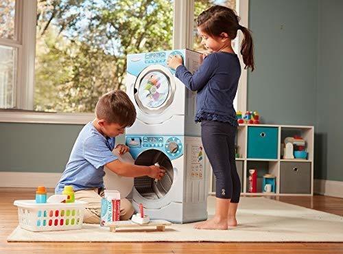 juego de juego de cartón combinado con lavadora - secadora m