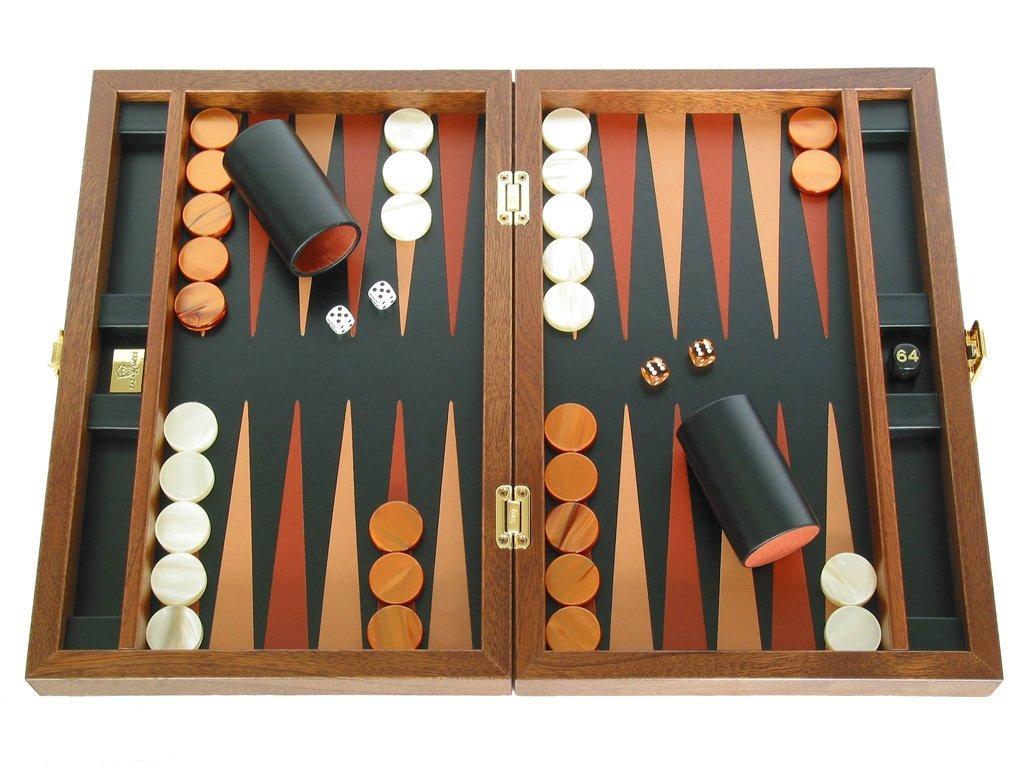 Juego De Juego De Mesa De Backgammon Plegable De Madera Z