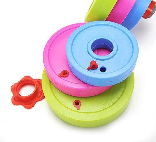 juego de juguete barbell ajustable para niños - rellenar co