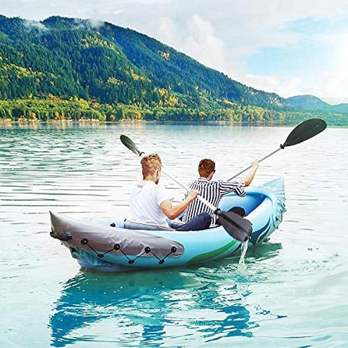 juego de kayak inflable para 2 personas con bote inflable