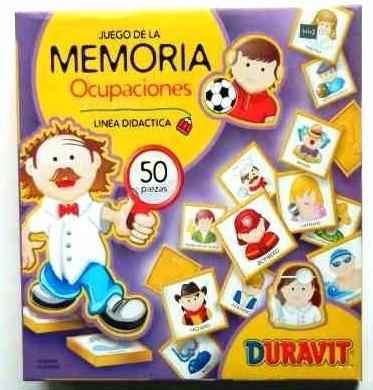 juego de la memoria duravit ocupaciones memotes planeta