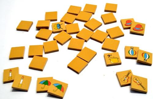 juego de la memoria en madera gordillo memotes planeta