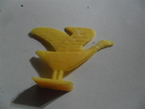 juego de la oca ave pajaro pato miniatura figura juguete