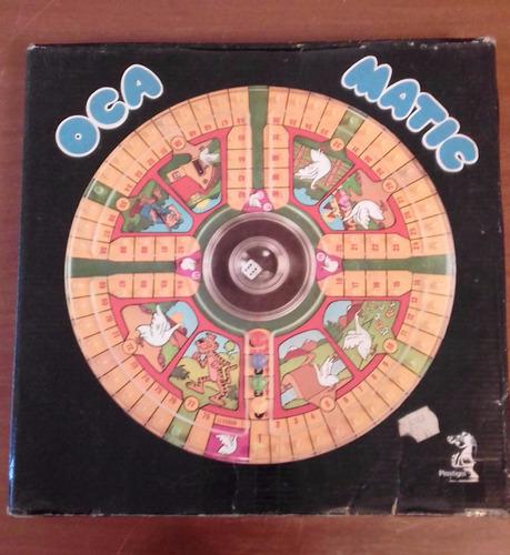 juego de la oca matic juego de mesa antiguo