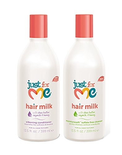 juego de leche just for me - silkening conditioner, 13.5