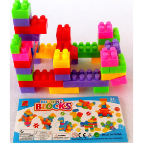 Juego De Lego 50 Pzas Didáctico  Bloques Armar. Somos Tienda
