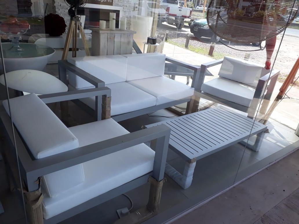 Juego De Living De Aluminio Para Exterior Y Jardin Sidney - $ 82.298 ...