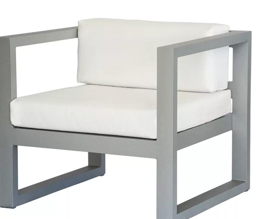 Juego De Living De Aluminio Para Exterior Y Jardin Sidney - $ 84.990 ...
