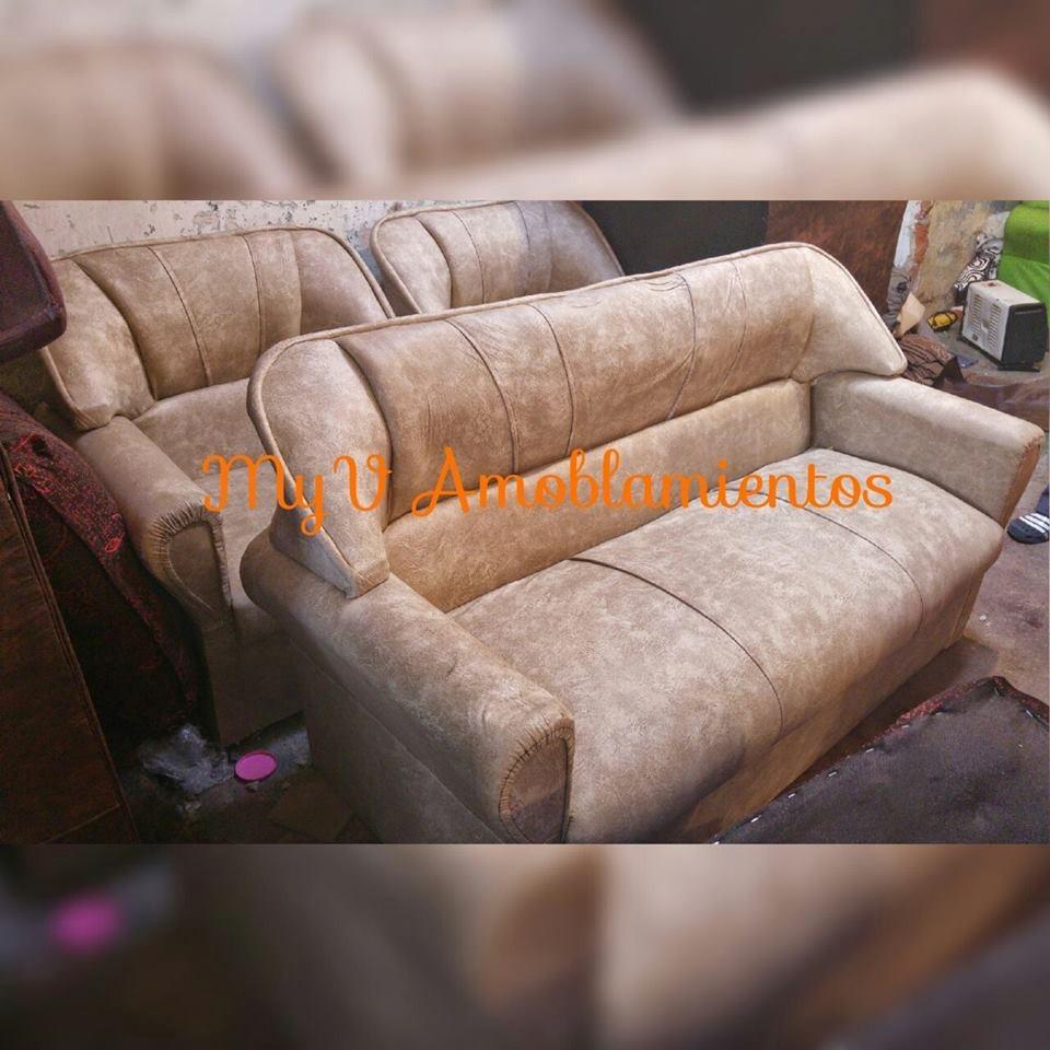 Juego de living directo de fabrica myv amoblamientos for Fabricas de muebles en montevideo uruguay