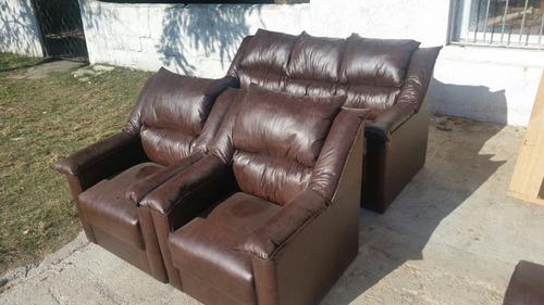 juego de living picasito 3+1+1 sillones de gran comodidad!!