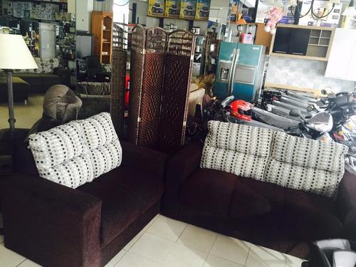 juego de living sillon sofa 3+2 shangai sensacion